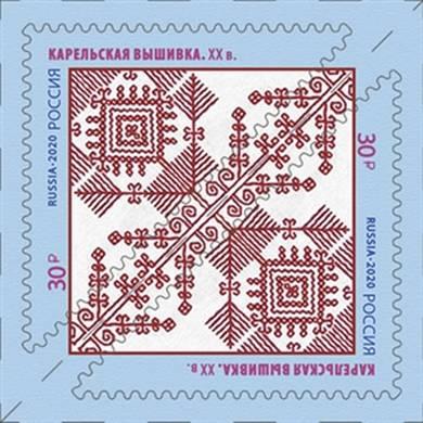 Декоративно-прикладное искусство России. Карельская вышивка