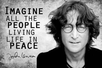 Джон Леннон.Борец за мир