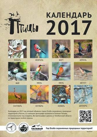 Календарь «Птицы»